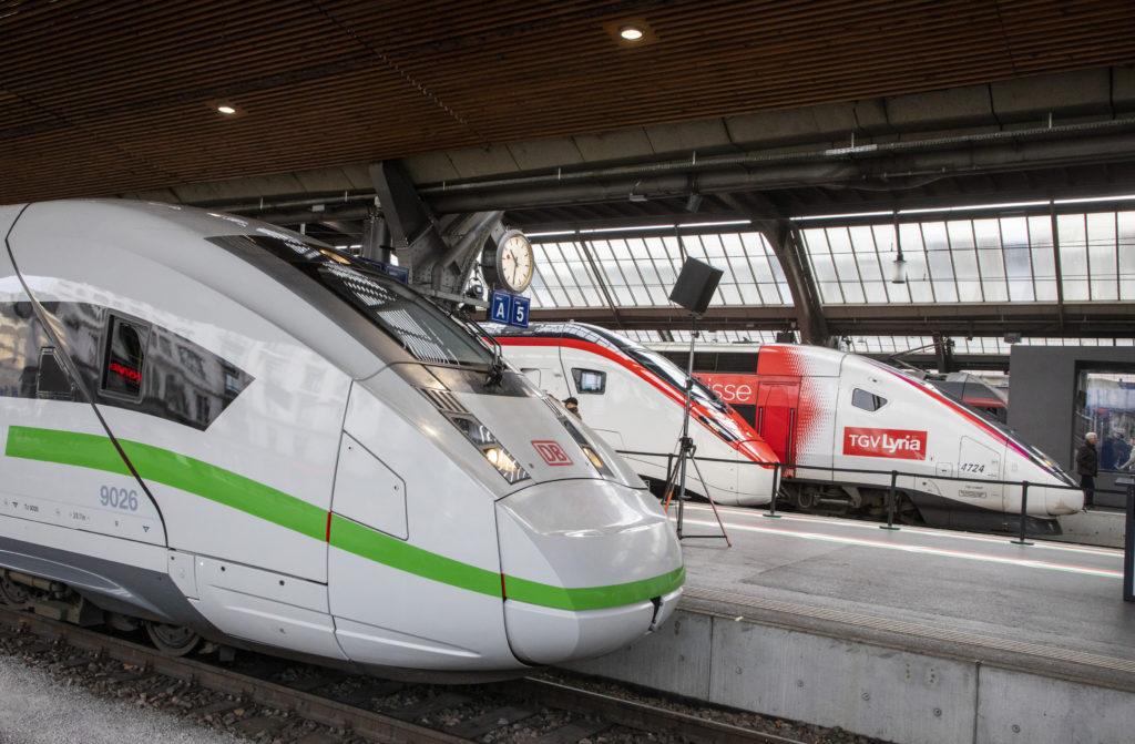 Internationale Hochgeschwindigkeit, Zürich HB